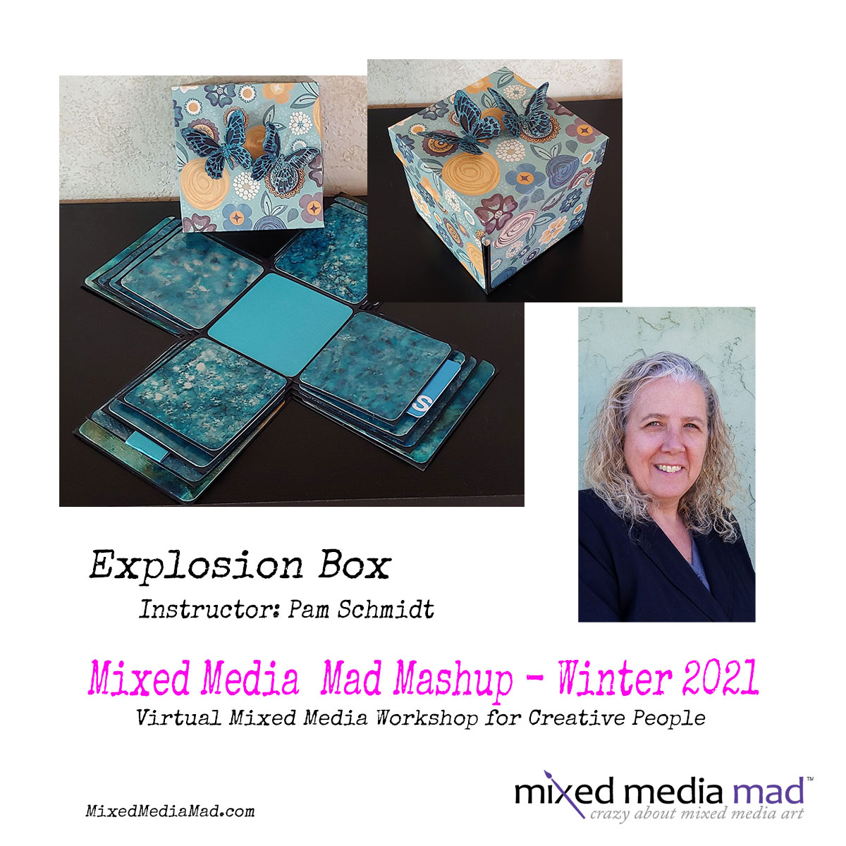 Mixed Media Explosion Box
